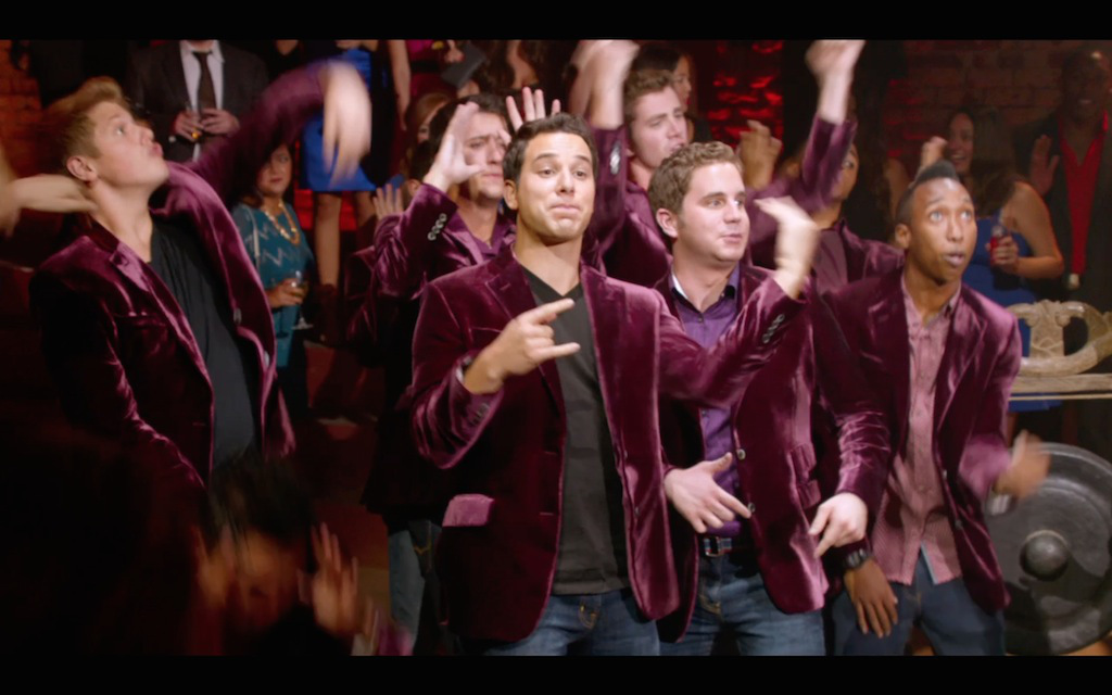 Just in time for Pitch Perfect 2, a Pitch Perfect-themed MARRIAGE PROPOSAL!
