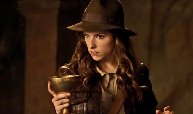 We wish Anna Kendrick's brilliantly feminist parody of Indiana Jones were a real movie