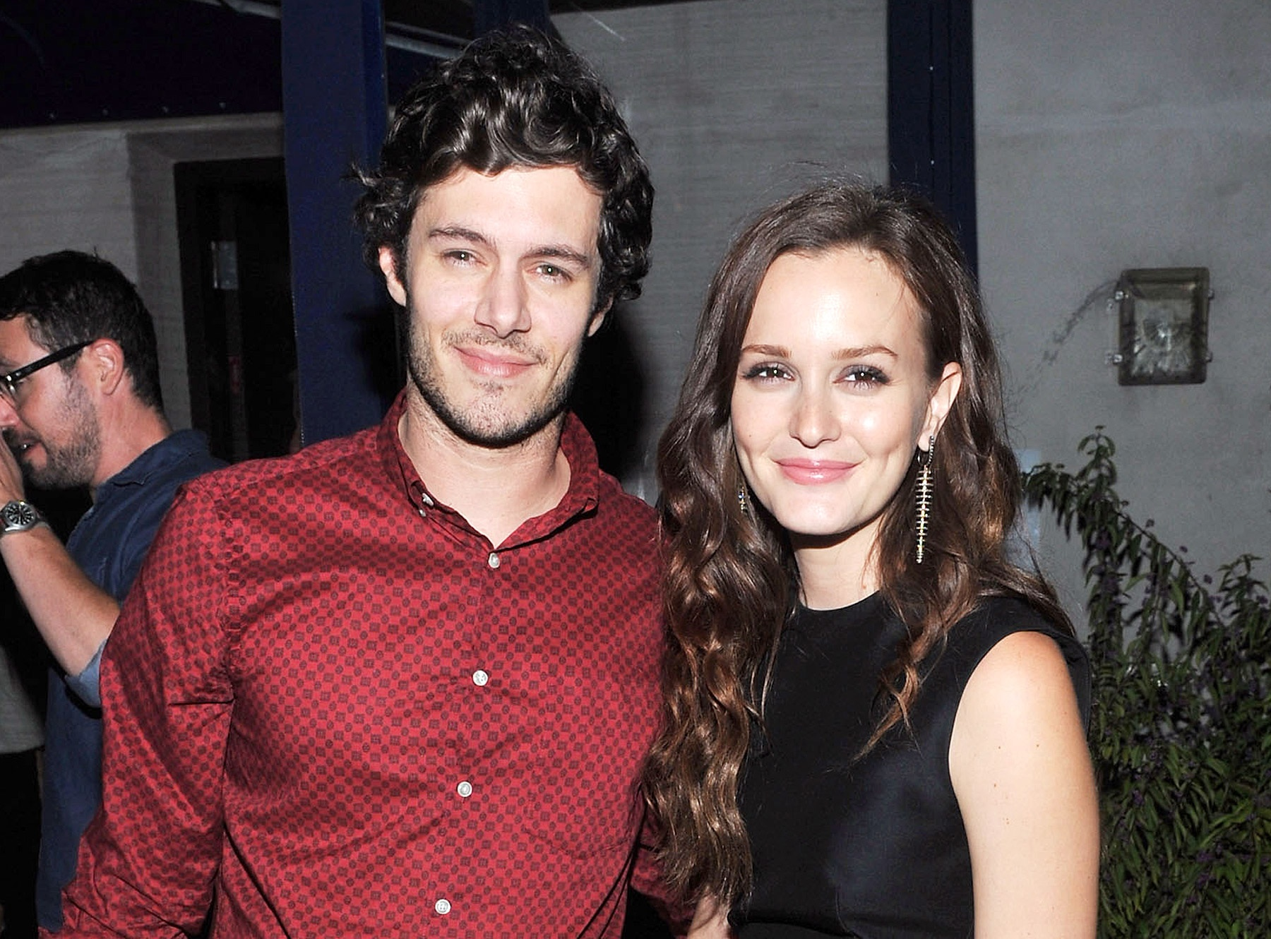 Squee! Adam Brody and Leighton Meester to birth the teen-drama baby of our dreams