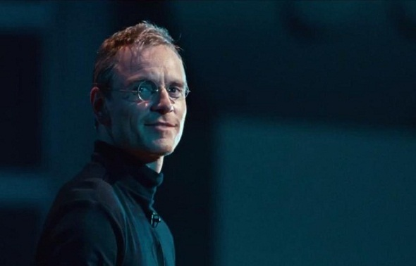 The new Steve Jobs movie trailer is here and it's very Aaron Sorkin