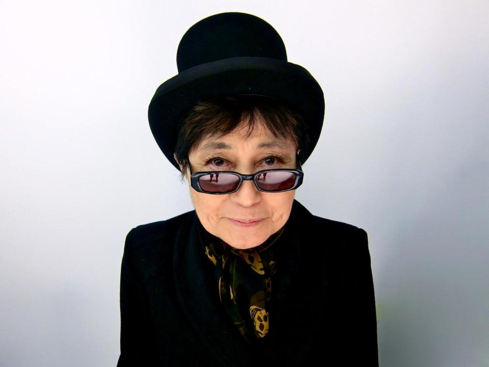 Why Yoko Ono's latest exhibit is asking strangers to touch