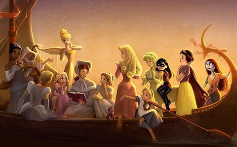 So, Disney almost made a movie starring ALL of the princesses — here's the art that proves it