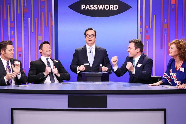 A real-life celebrity game show happened last night on Jimmy Fallon