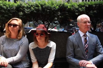 Literally, a New York minute (with Tim Gunn)… literally.