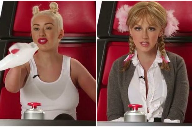 Christina Aguilera amazingly impersonates every pop star ever