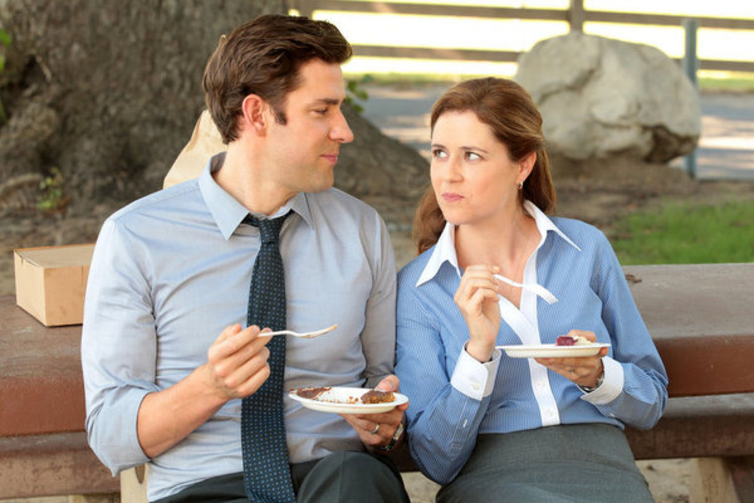 What Jim and Pam taught me about office romance
