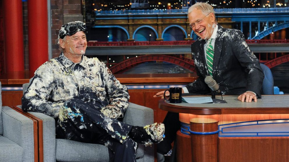 Bill Murray just out-Bill Murrayed himself on 'Letterman'