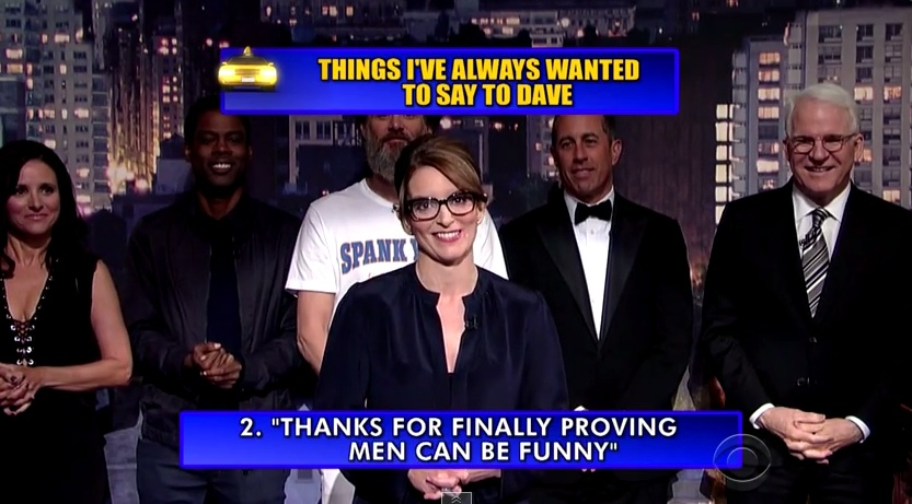 Top 10 moments we're reliving from David Letterman's epic last show
