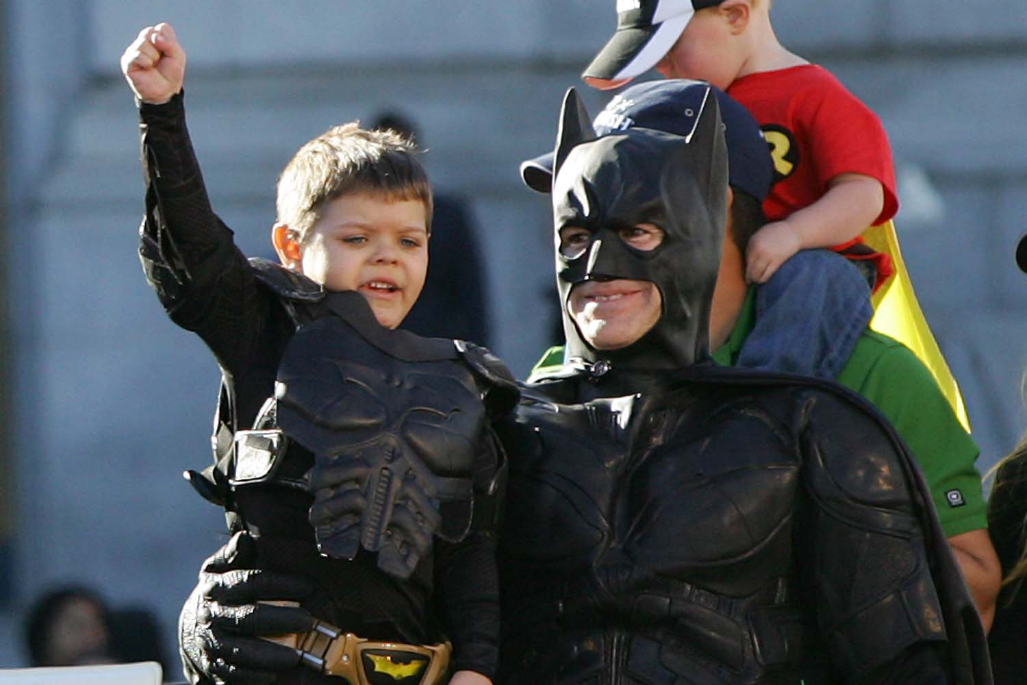 'Batkid Begins' is a real movie that's coming out, and we're SO excited