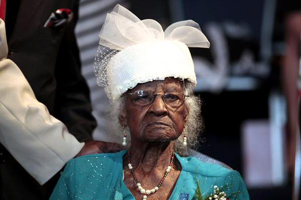 Happy birthday to the world's oldest person! She's 116 and she's fabulous.