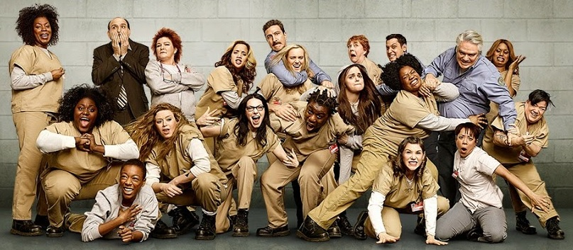 We love the crazy-inspiring body positivity coming from the 'OITNB' cast