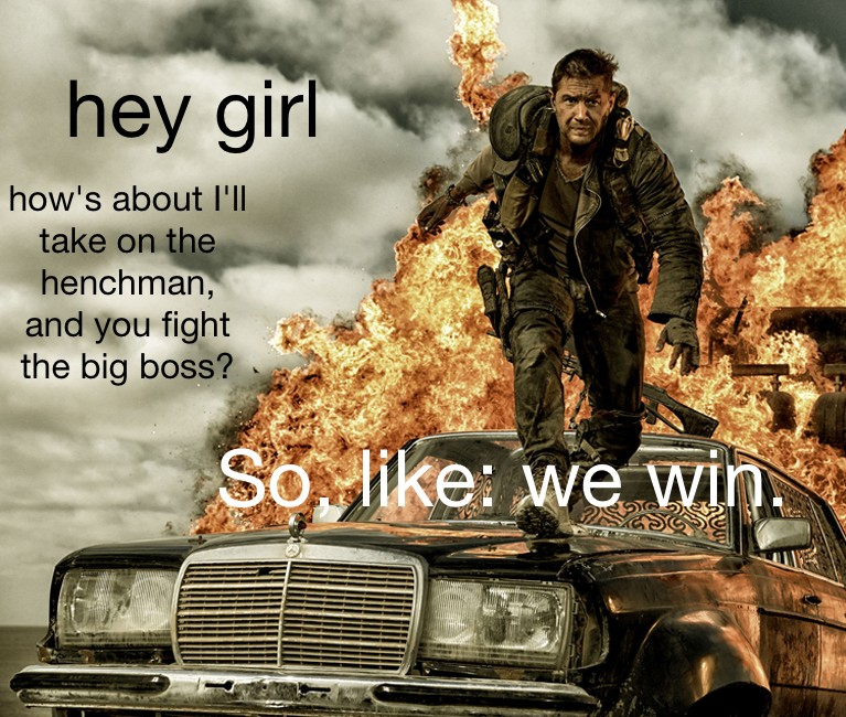 There's a feminist 'Mad Max' Tumblr, which is both inevitable and incredible