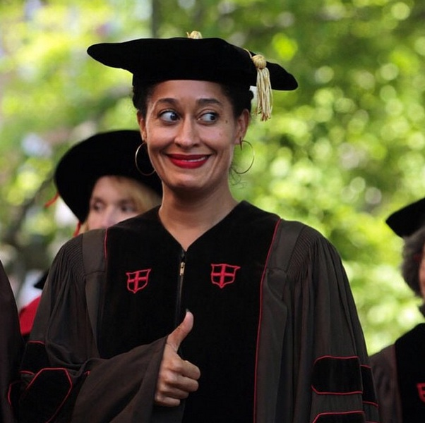 Tracee Ellis Ross was just awarded an honorary doctorate from her alma mater