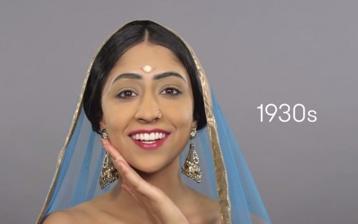 100 years of Indian beauty in less than two minutes