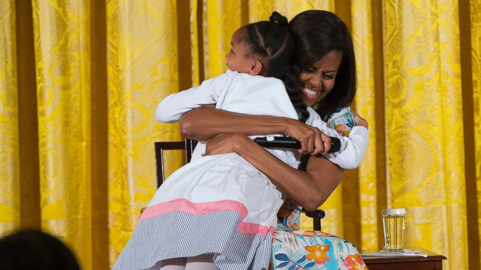 Michelle Obama is the Official Hugger in Chief