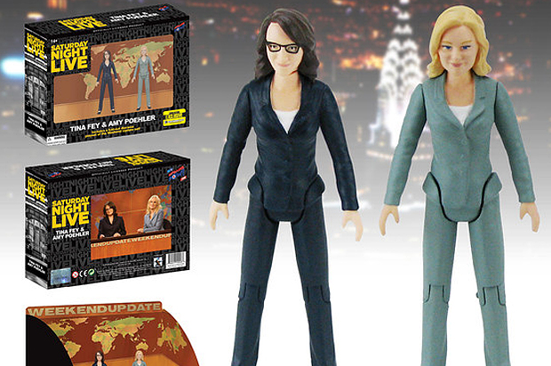 These Tina Fey and Amy Poehler action figures are real, and we need them