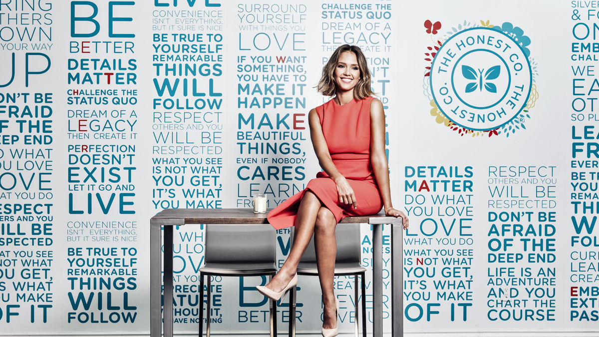 We bow before the greatness of Jessica Alba, an A+ entrepreneur who built a billion dollar company