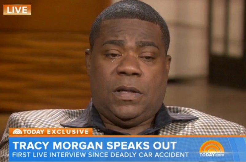 Tracy Morgan's first interview since his accident is heart-wrenching