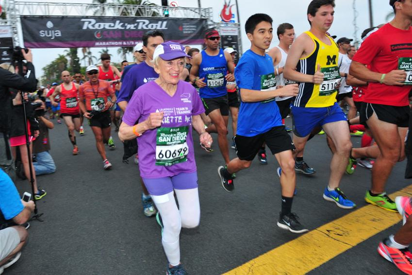 Meet the oldest woman to EVER finish a marathon