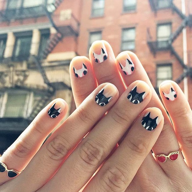 Nails of the Day: Kittens on kittens!