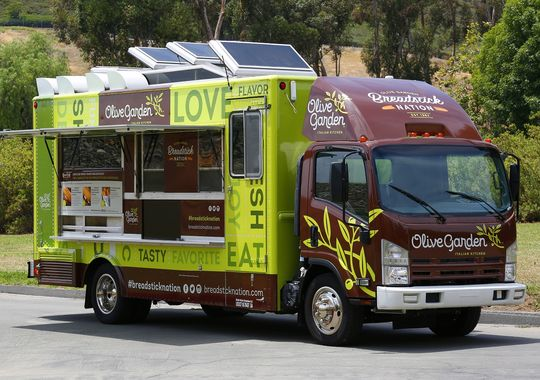You should know, there's an Olive Garden food truck