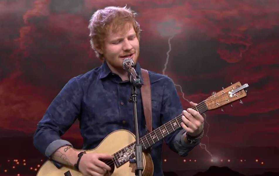 "Ed Sheeran covered ""skull crushing"" heavy metal and it was surprisingly soothing"
