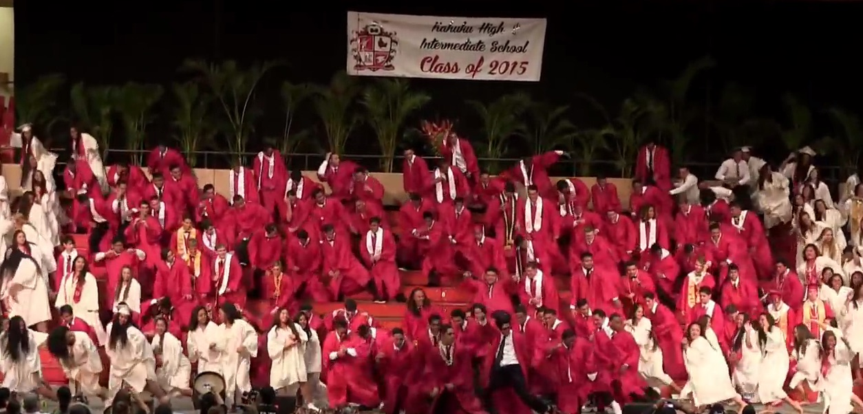 We bow down to this incredible senior class that just WON graduation