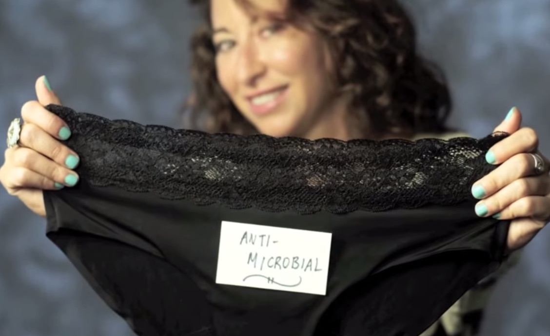 "An underwear invention might TOTALLY revolutionize the whole ""feminine hygiene"" world"