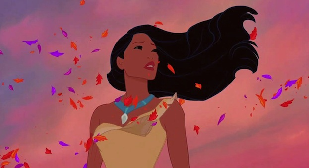 "YES — this ""Colors of the Wind"" 'Pocahontas' remix is glorious"