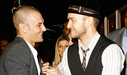 Justin Timberlake and Kevin Federline are now friends who golf together. Be still our '00s hearts.