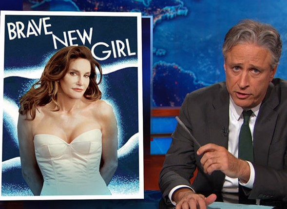 ICYMI: Jon Stewart's reaction to Caitlyn Jenner is the best thing you'll ever see
