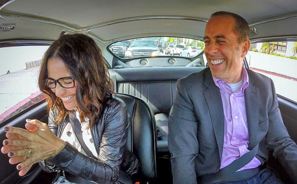 Elaine and Jerry are back together in a totally hilarious 'Comedians in Cars Getting Coffee'