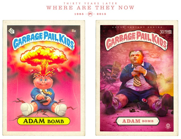 Photo project imagines 'Garbage Pail Kids' as adults, is weird and glorious