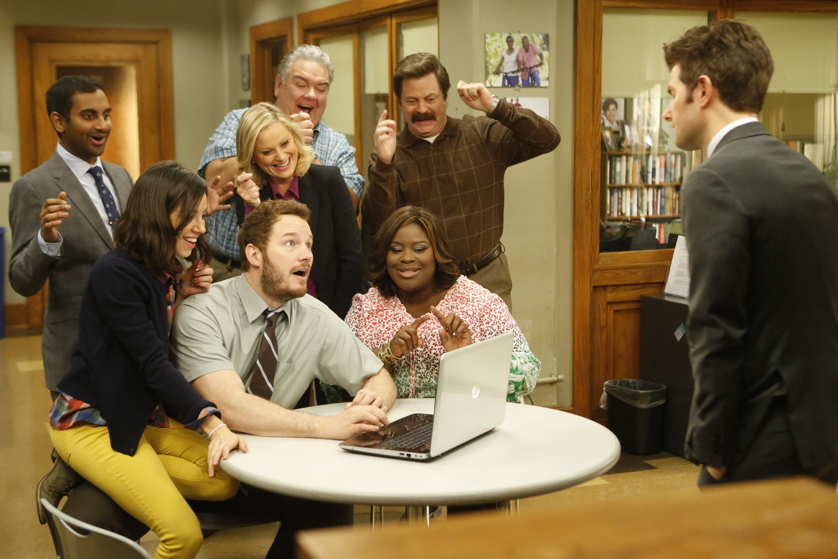 A 'Parks and Rec' gag reel to give you the heart feels
