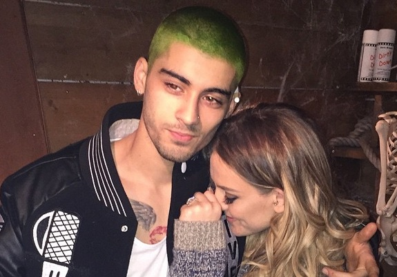 Zayn Malik now has GREEN hair, you guys