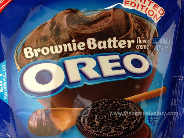 Brownie batter Oreos are coming! Brownie batter Oreos are coming!
