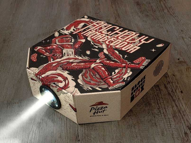 You will not believe what this Pizza Hut delivery box can do