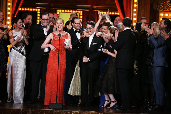 Women totally owned the Tonys this year