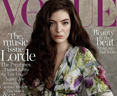 Lorde is on the newest 'Vogue' cover. Her mom is super proud, and so are we!