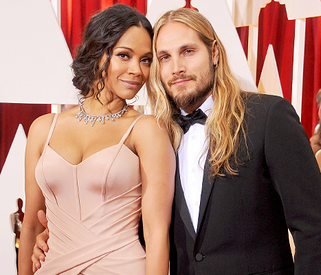 Today in awesome: Zoe Saldana's husband took her last name