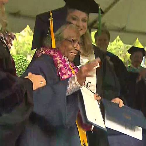 Meet the 99-year-old badass woman who just graduated college