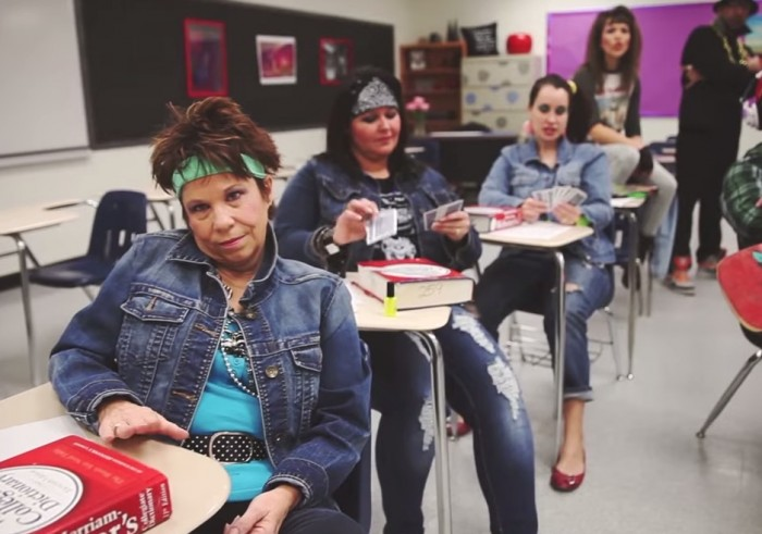 These high school teachers had an awesome '80s surprise for grads