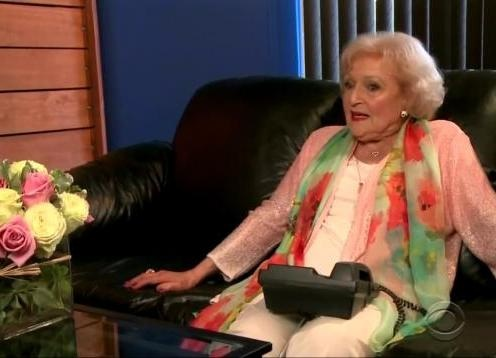 Betty White prank called James Corden, because of course she did