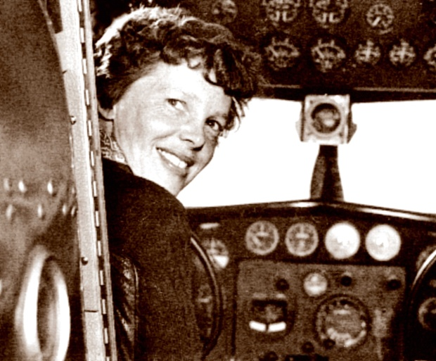 There's new, incredible footage of Amelia Earhart's last days