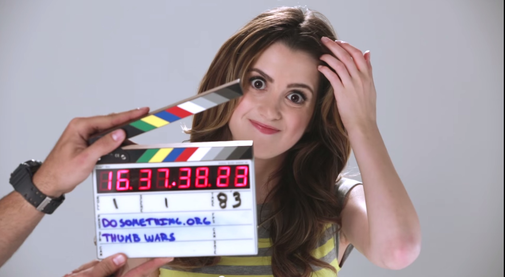 Laura Marano encourages teens to stop texting and driving in the cutest way possible