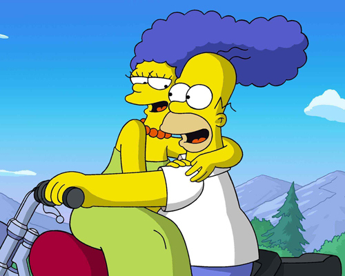 This is not a drill homer and marge simpson are splitting up - Homer simpson and bart simpson ...