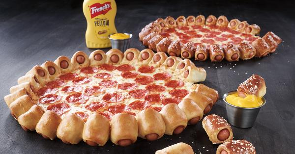 Hot dog crusts? Oh, Pizza Hut, you really went there