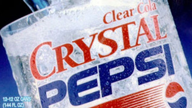 So we're pretty sure Crystal Pepsi is coming back (yay?)