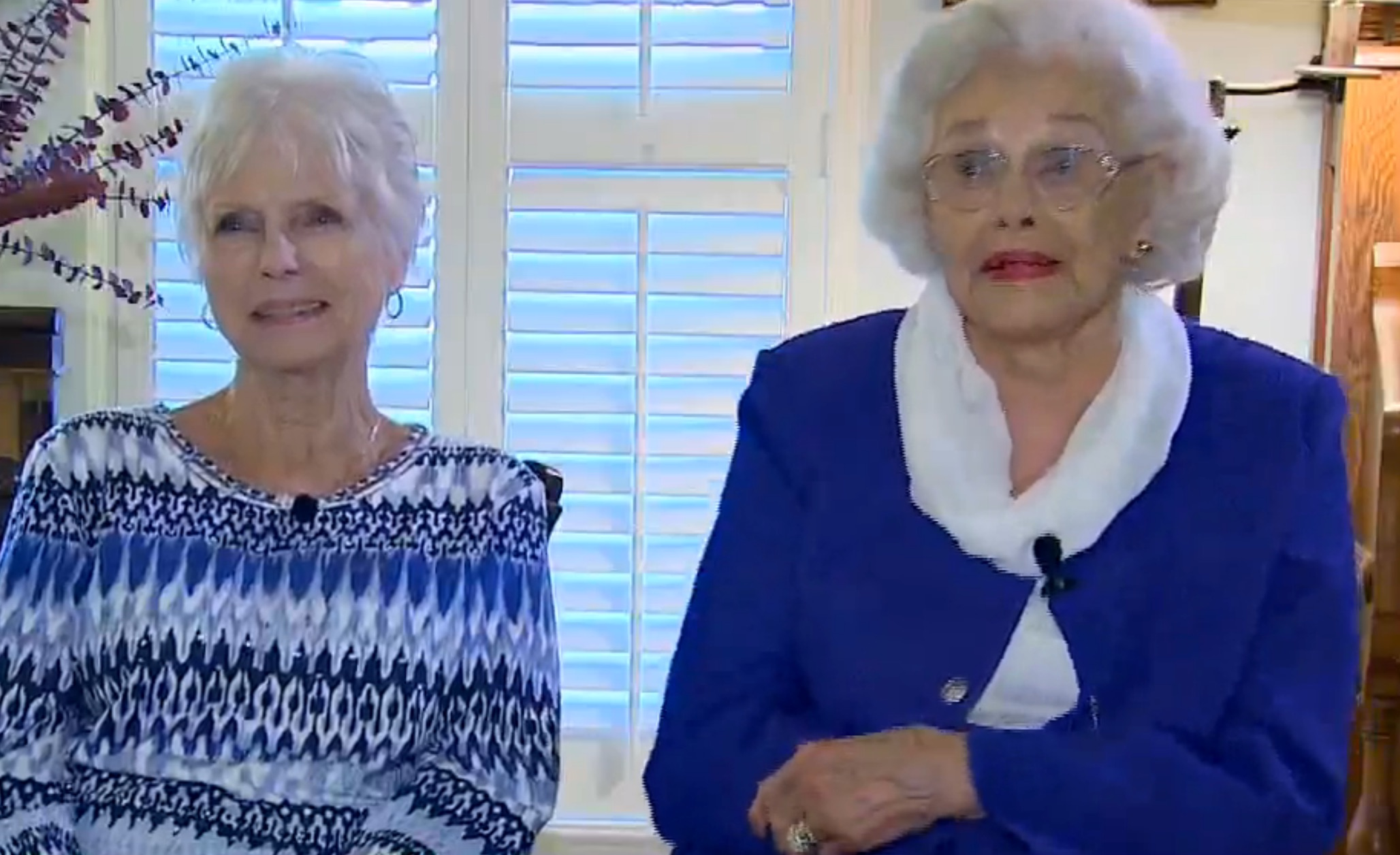 Daily feels: This 92-year-old just became a mom to her 76-year-old cousin