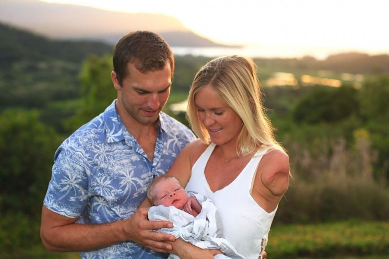 Bethany Hamilton's incredible, brave life now includes a baby